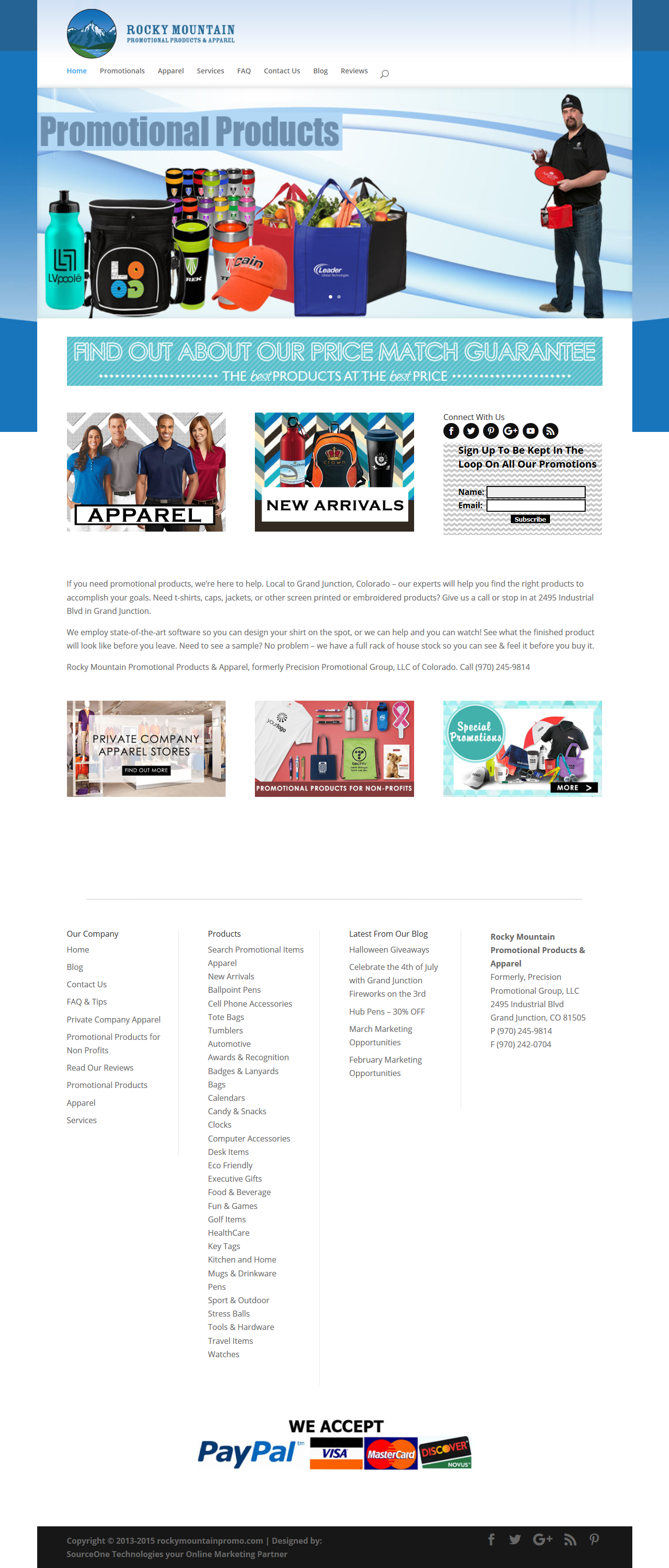 Rocky Mountain Promotional Products and Apparels