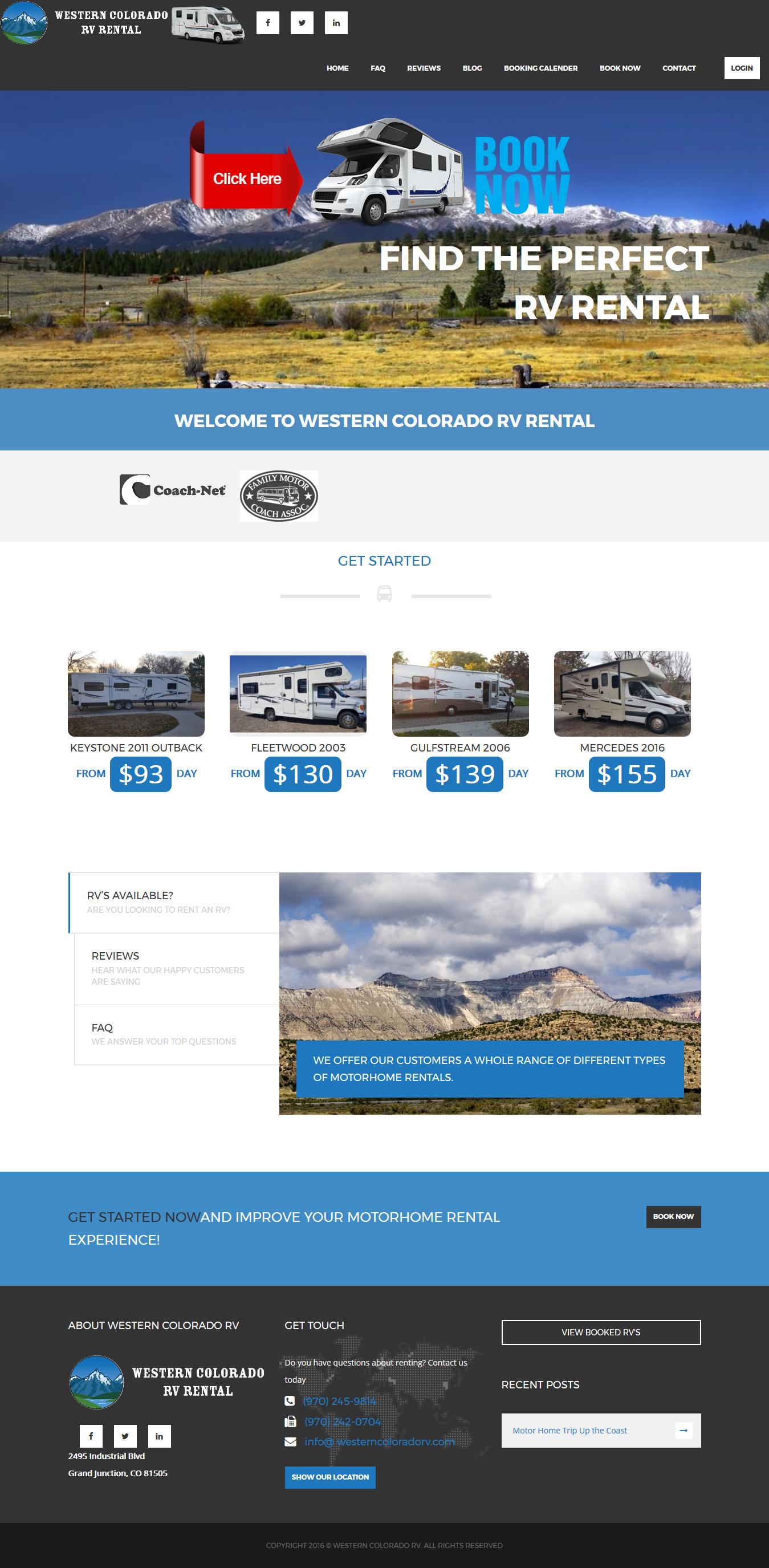 Western Colorado Rv Rental