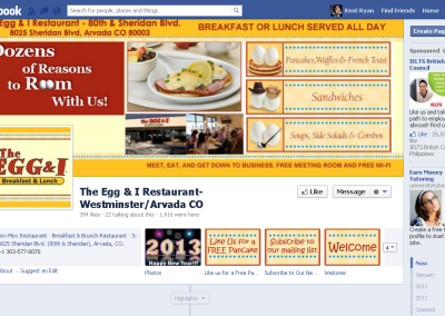 The Egg & I Restaurant- Westminster/Arvada CO