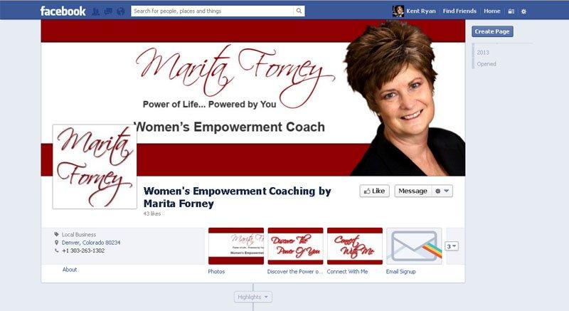 Women's Empowerment Coaching by Marita Forney
