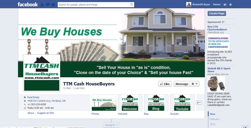TTM Cash HouseBuyers